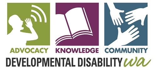 Developmental Disability WA logo